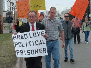 brad love political prisoner